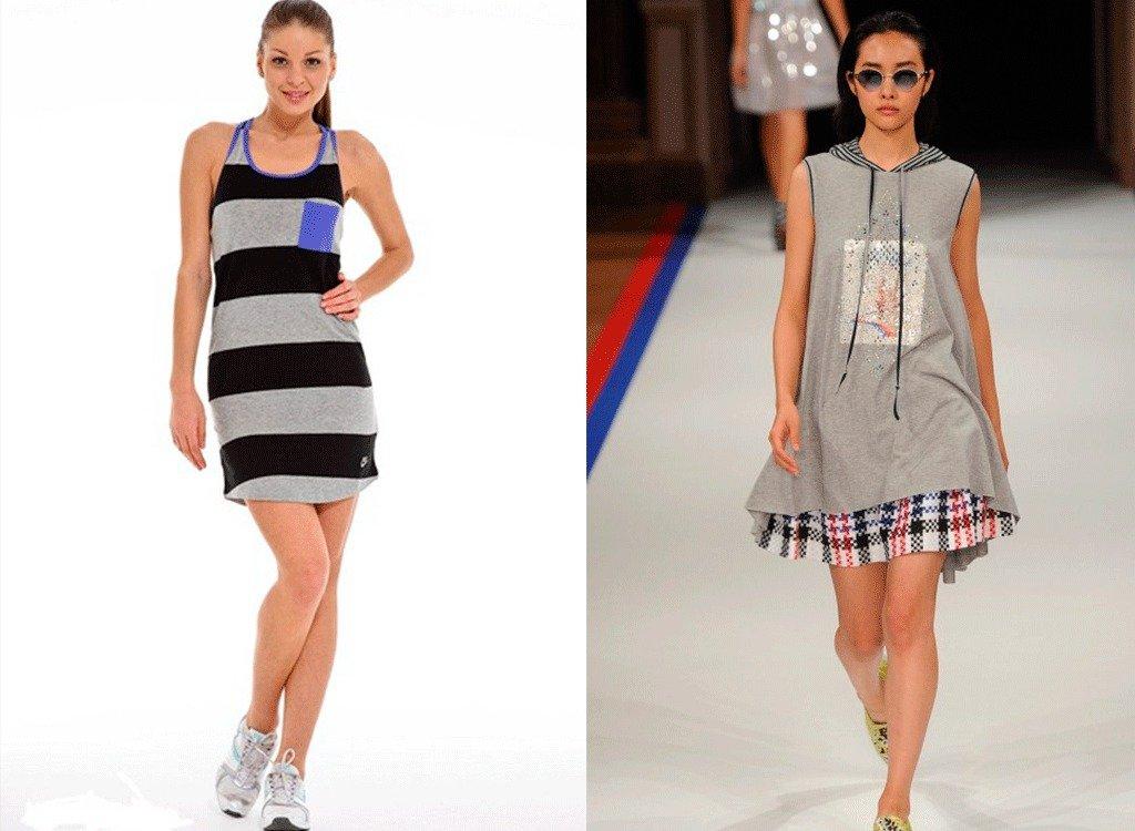 Купить Платье Спортивного Стиля