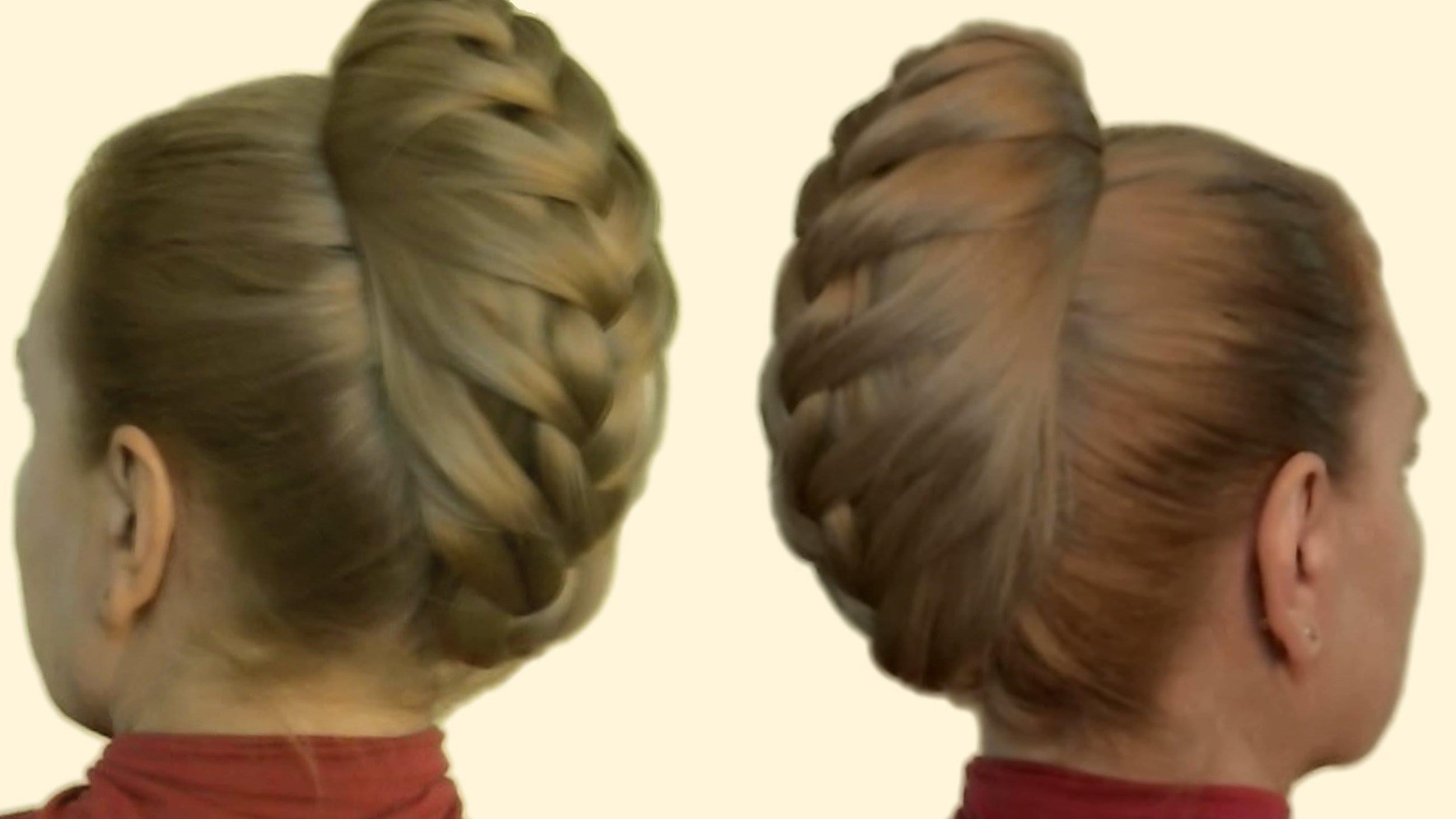 Как заплести косу самой себе: 9 пошаговых причесок с фото 16
