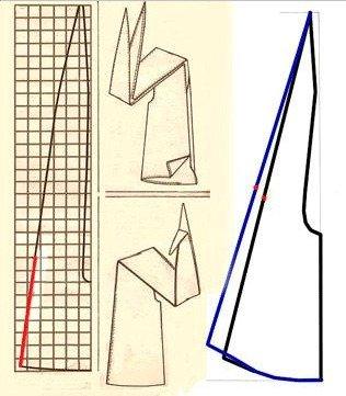 Как сшив платье трансформер 82