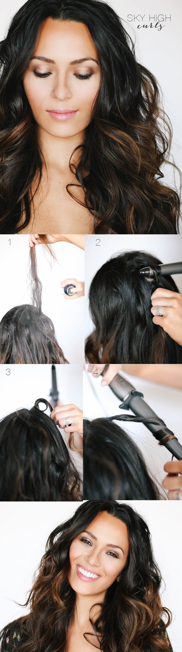 Как сделать кудри без бигуди и плойки фото