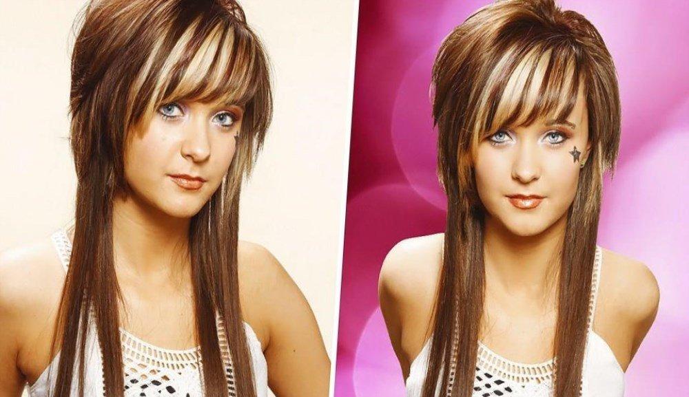 Современные стрижки длинных волос