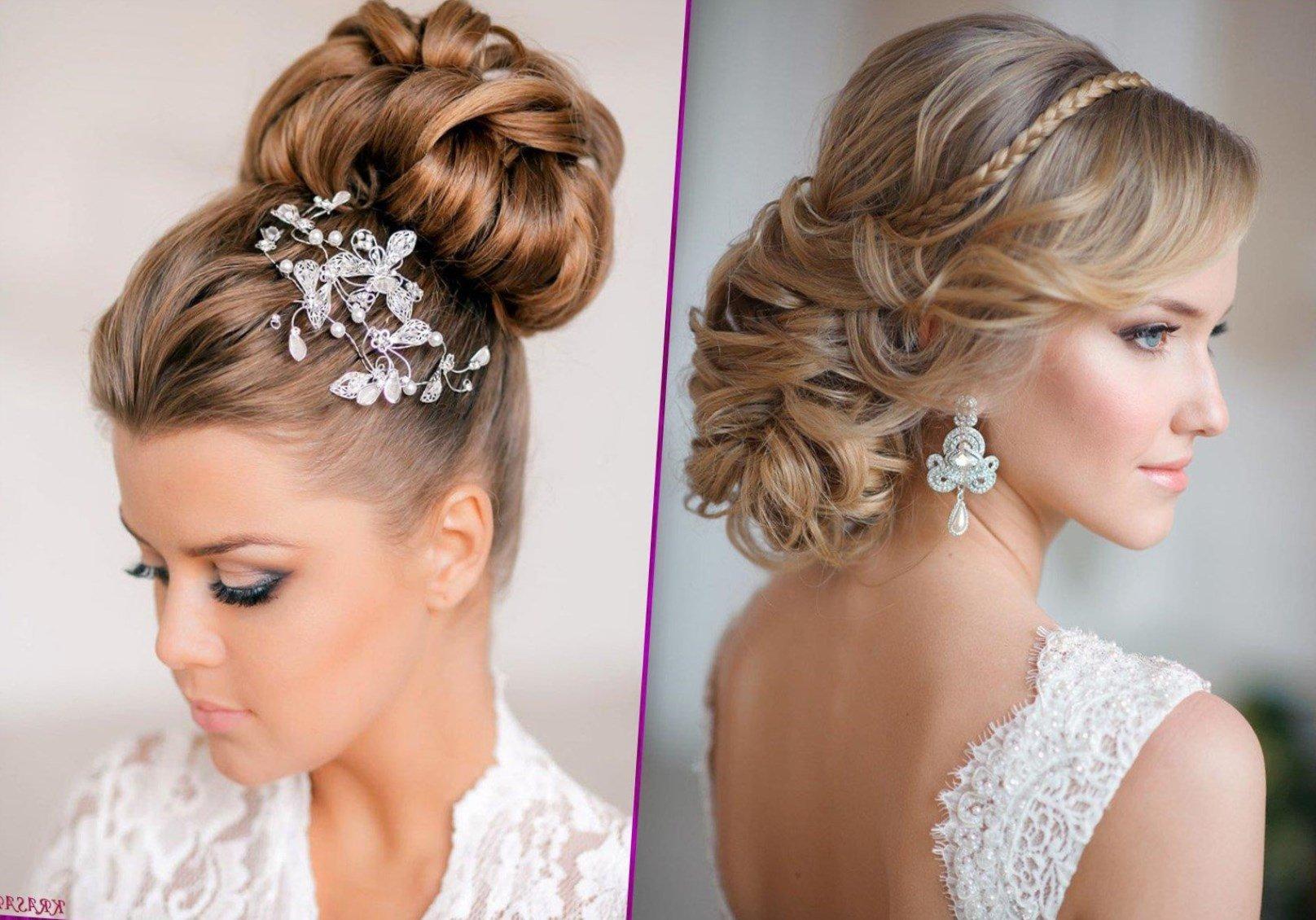 Красивые свадебные прически на средние волосы фото с круглым лицом
