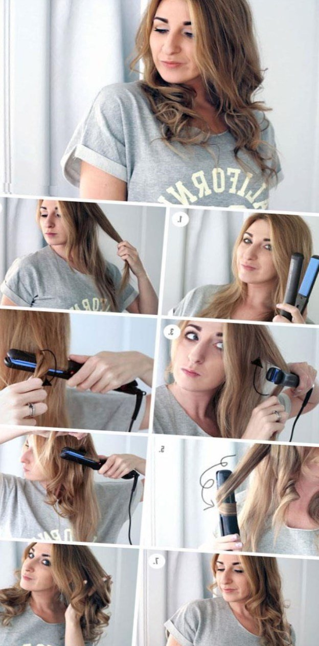 Как сделать локоны без утюжка на короткие волосы 413