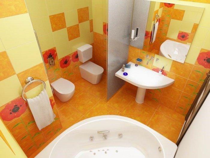 Как сделать совмещенный туалет 178