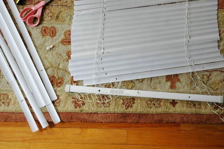 Сшить римскую штору из жалюзи своими руками 74