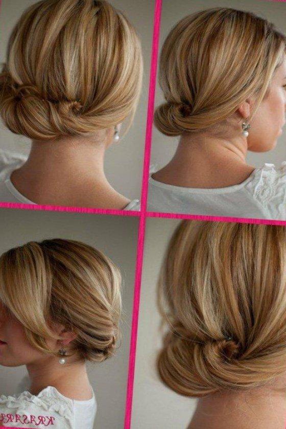 Прически на волосы до плеч простые своими руками 867