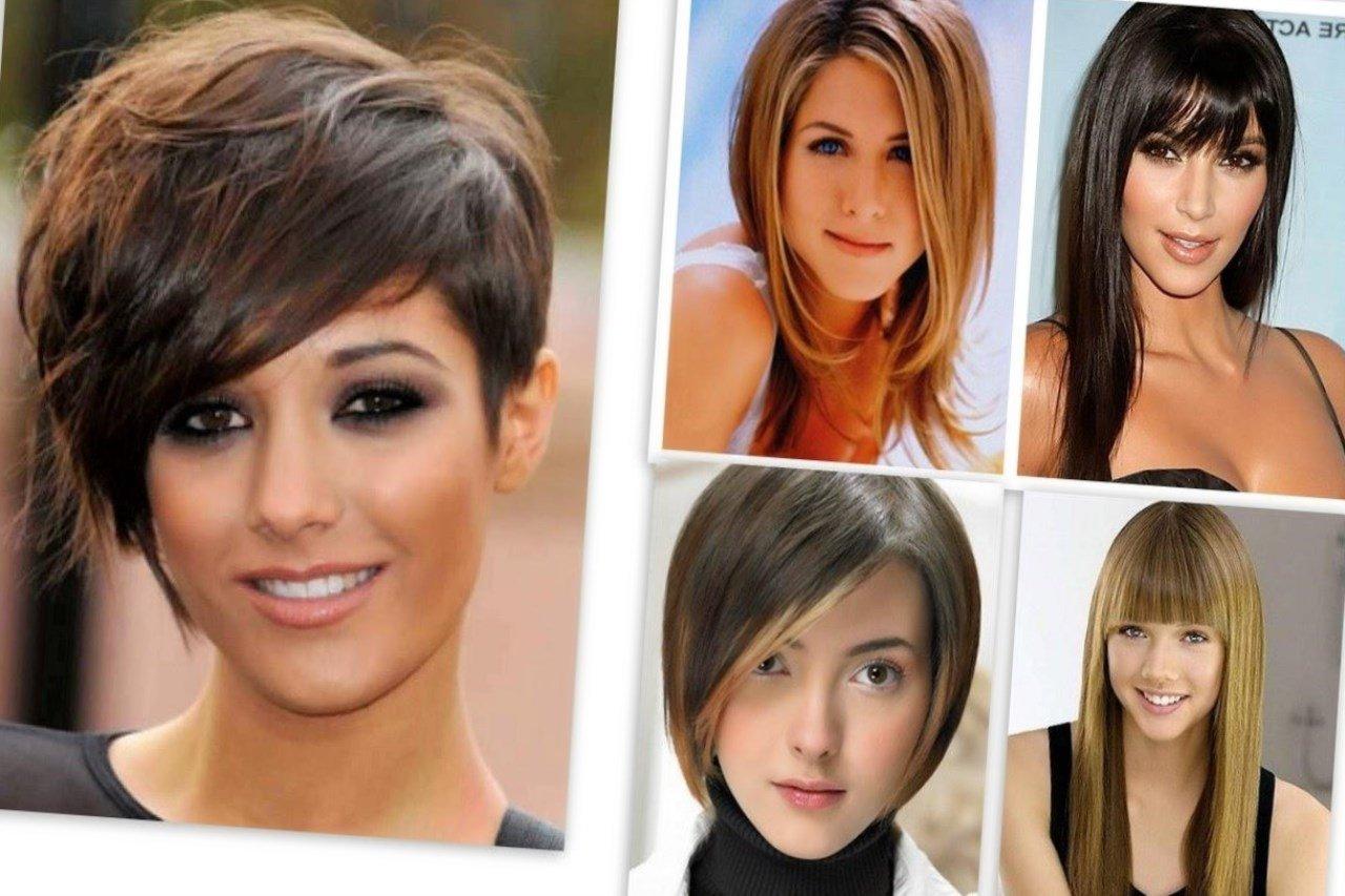 Красивые причёски для овального лица