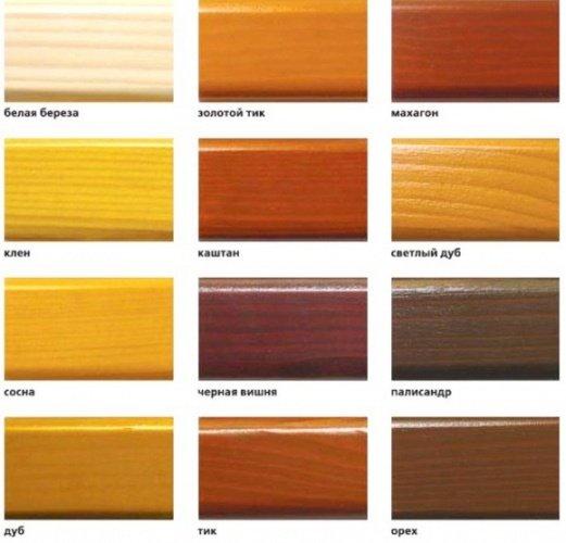 цвета лаков для дерева фото это белье