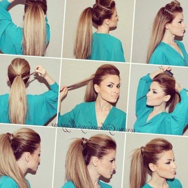 Как сделать объемную прическу на длинные волосы