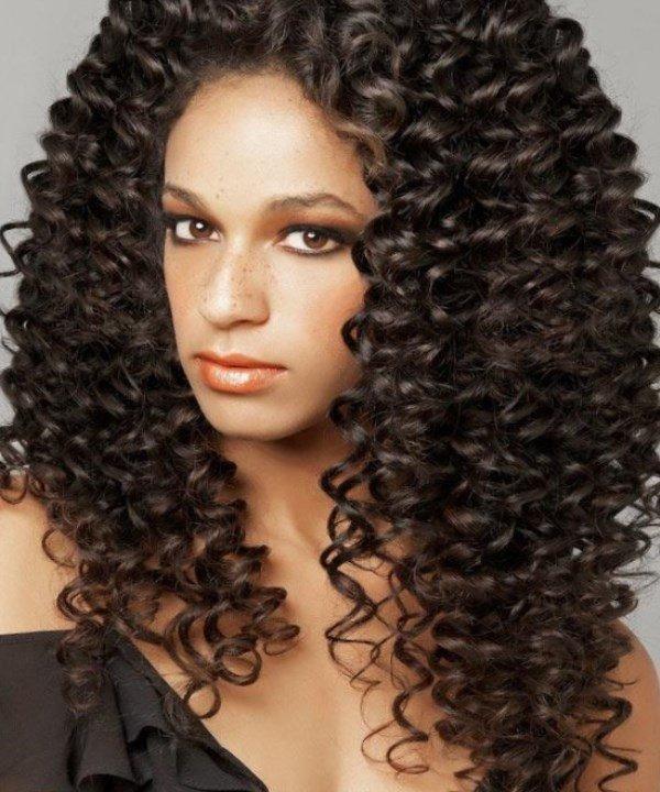 Хім завивка на довге волосся  e30218ba64327