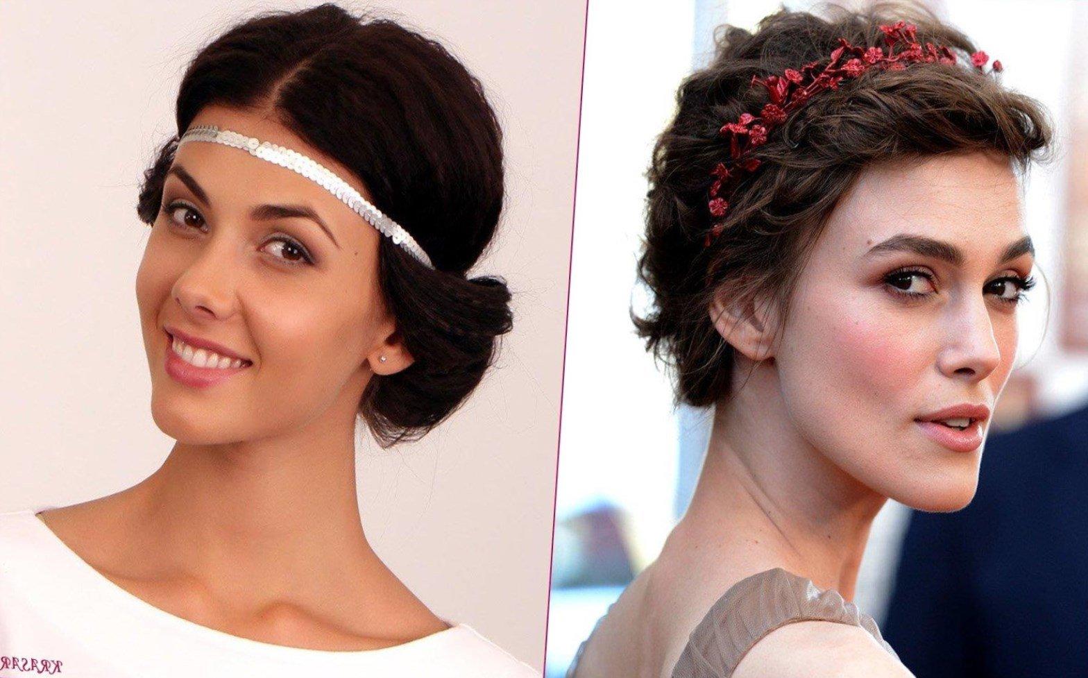 Прически с повязками для волос фото