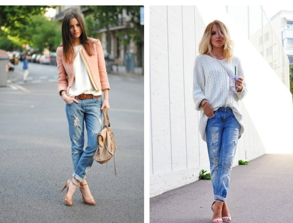 Как сделать джинсы с прорезями