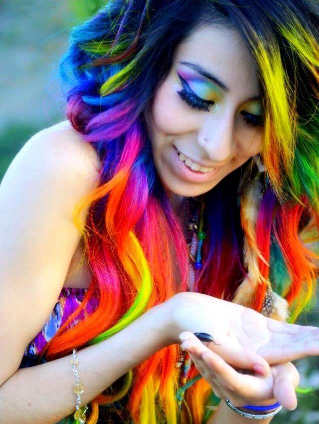 Как сделать яркий цвет краски 29