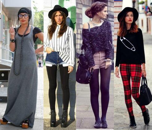 Современные модные девушки