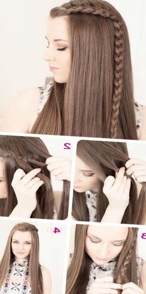 Прически на средние волосы прически с распущенными волосами в домашних условиях