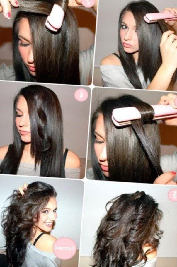 Локоны на короткий волос в домашних условиях фото