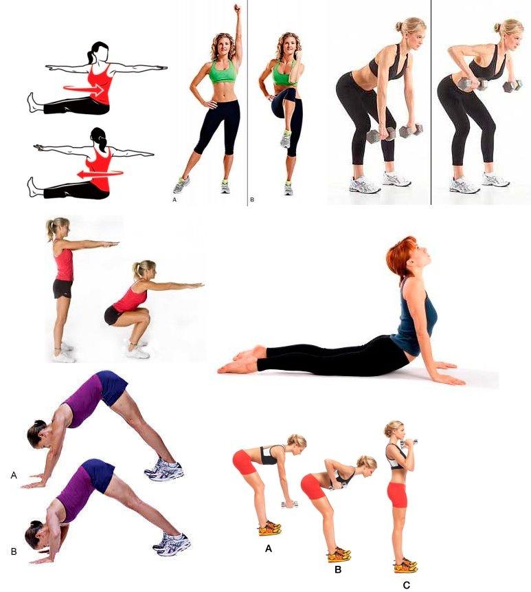 Как убрать живот и бока: упражнения, тренажеры, обертывания, диета