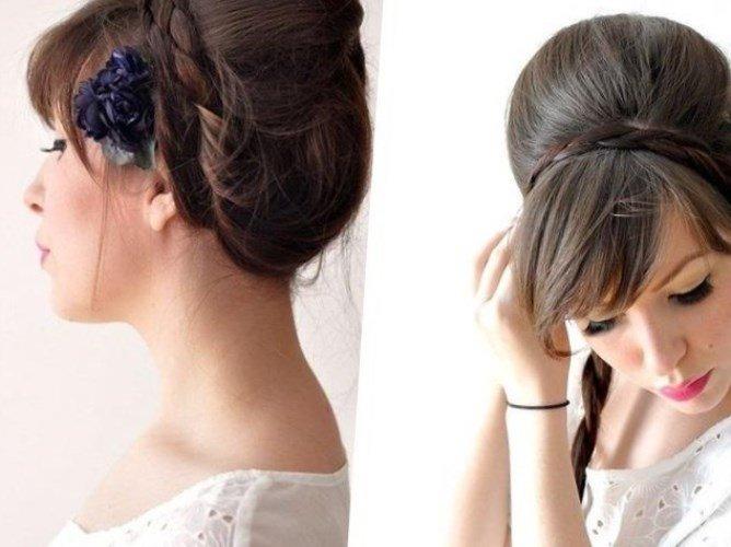 Как сделать красивую прическу с объемом