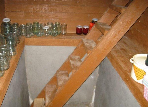 Сделать подвал в деревянном доме своими руками 65