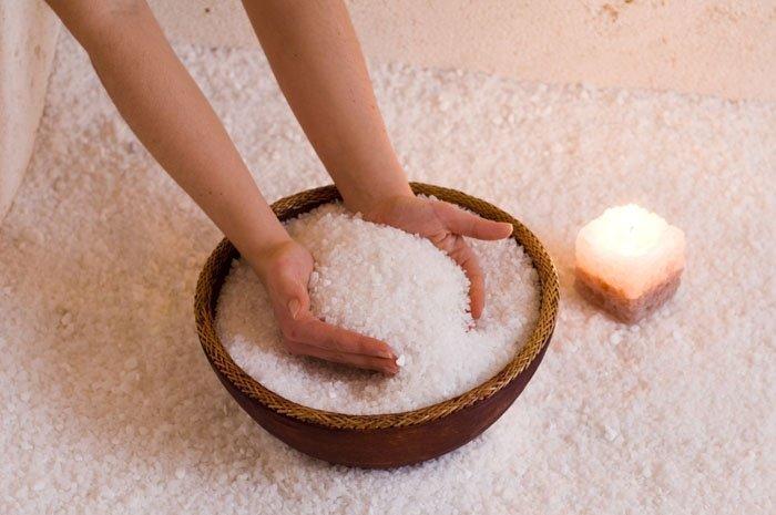 Леченье солью в домашних условиях
