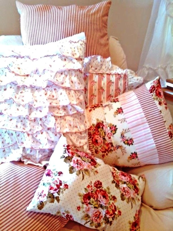 Чем наполнить подушки своими руками