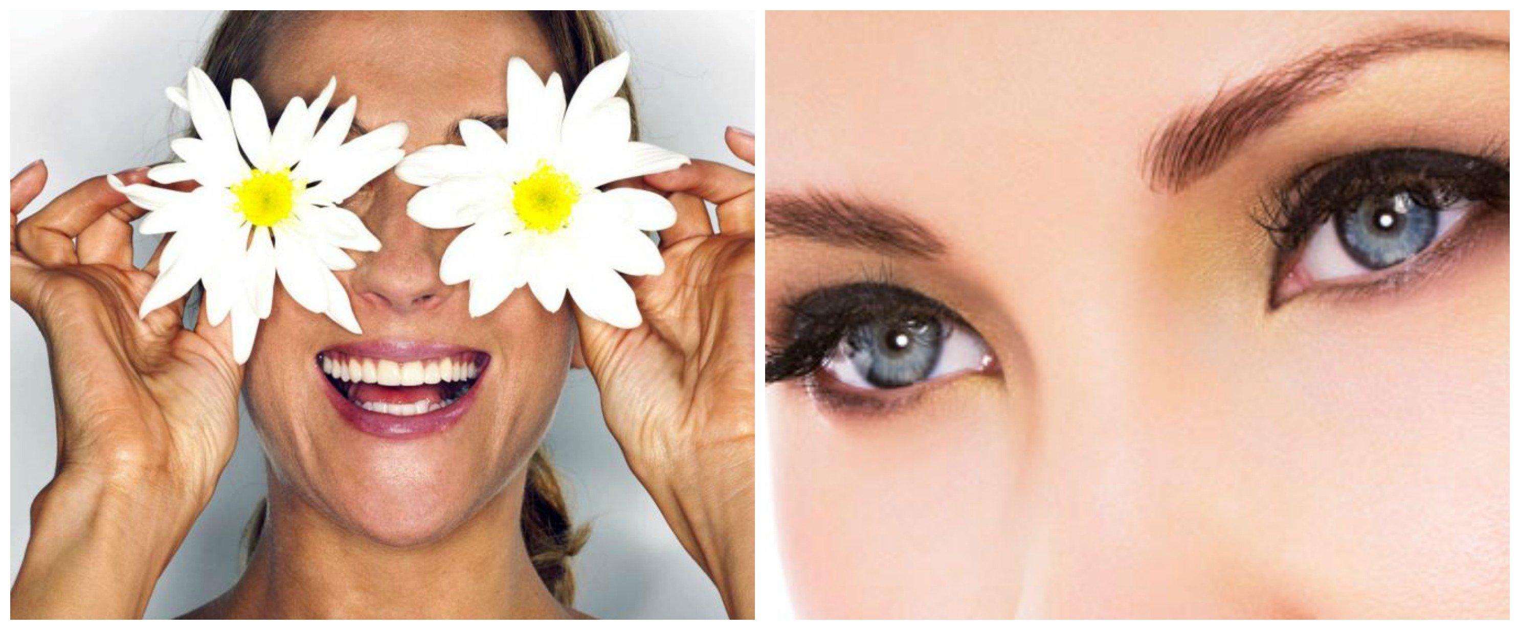 Цветок глаз