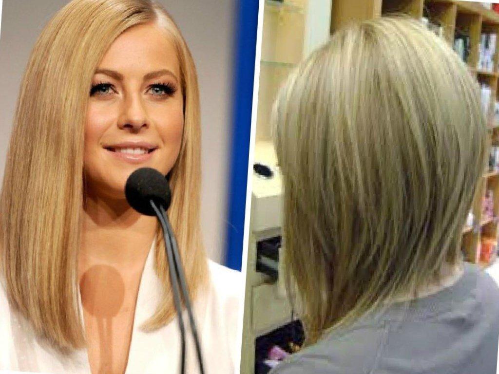 Прическа длинные волосы спереди короткие сзади длинные