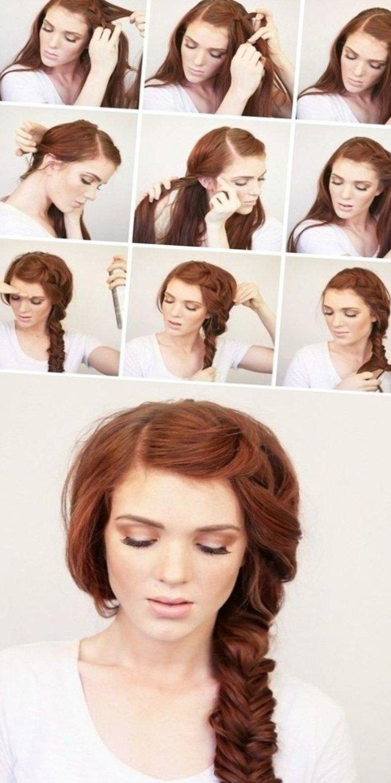 Красивые прически с локонами на длинные волосы: пошаговые