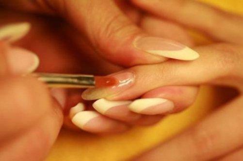 Наращивание ногтей биогелем в домашних условиях для начинающих 954