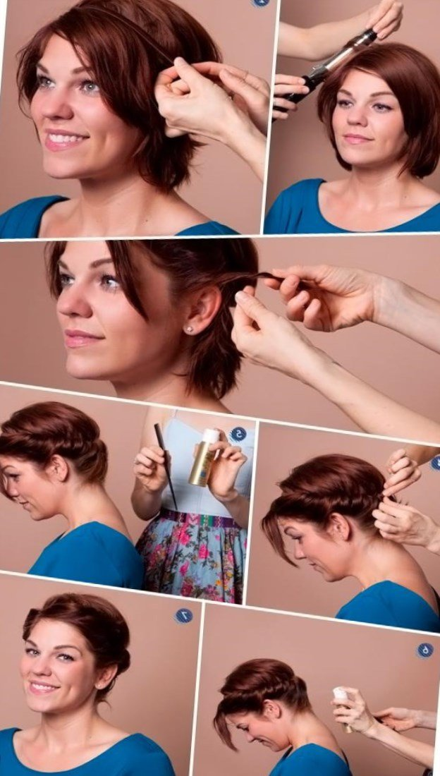 Укладка волос в домашних условиях на тонкие волосы 76