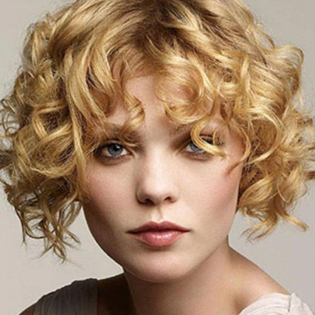 Прически на волнистый волос фото