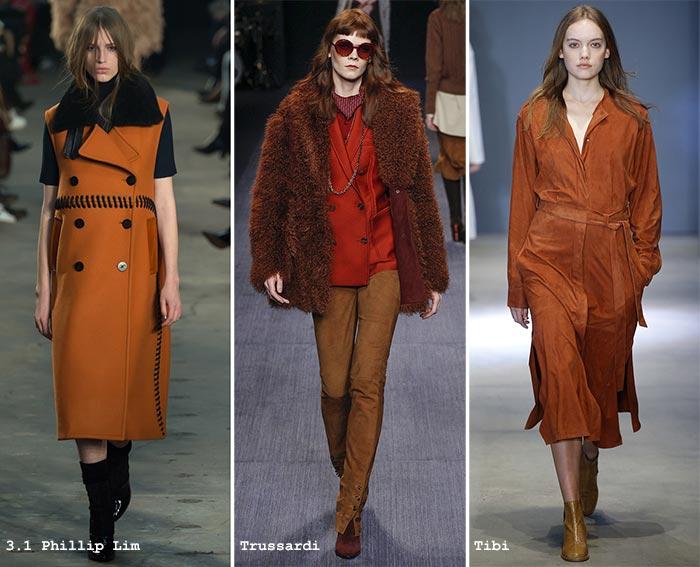 Модные цвета пальто 2017 года