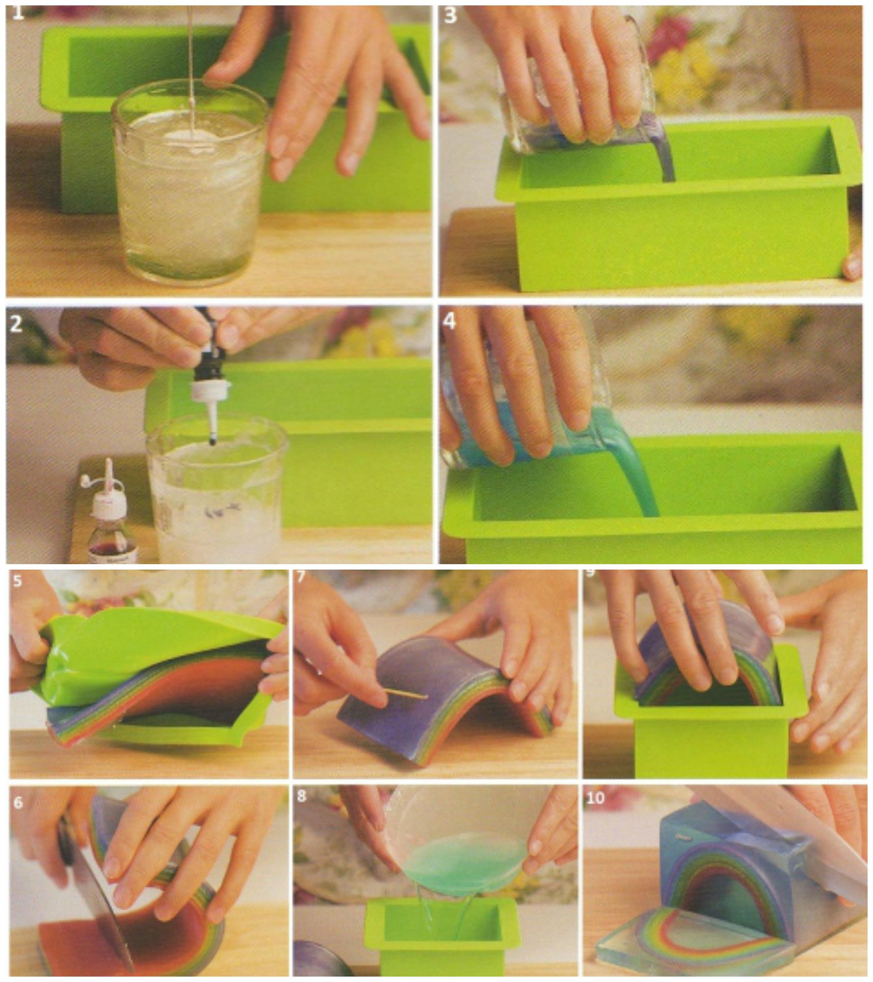 Как сделаю мыло домашнее 61