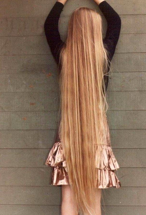 Как сделать большие волосы за месяц