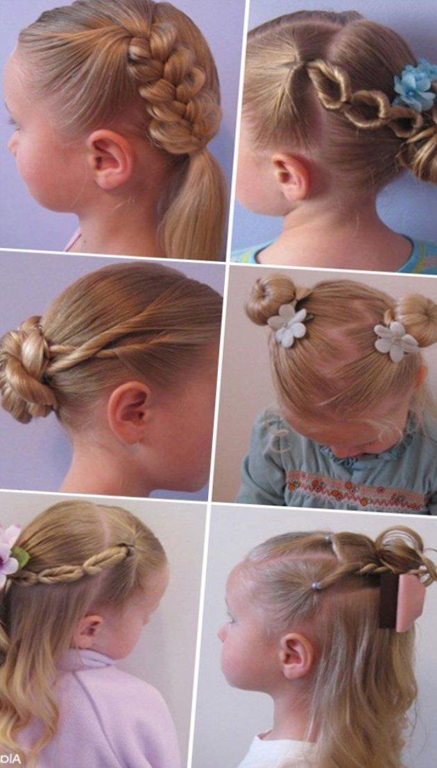 Какие прически делать девочке 3 лет