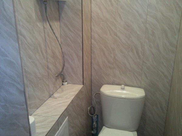 Как обшить туалет панелями своими руками