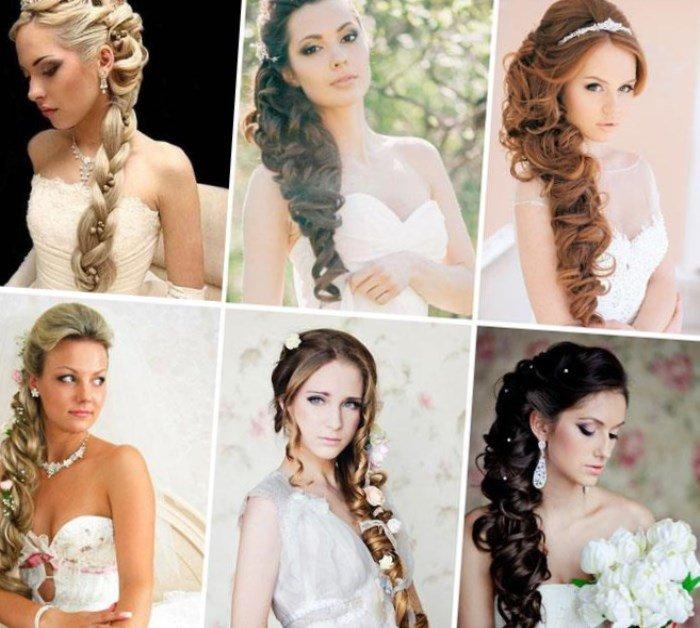 Свадебная прическа под греческое платье на средние волосы