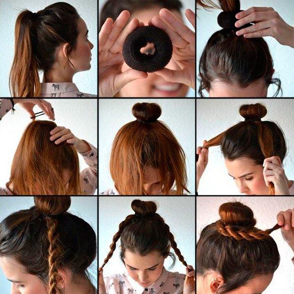 Як зробити об'ємний, пишний пучок із волосся? Догляд за волоссям