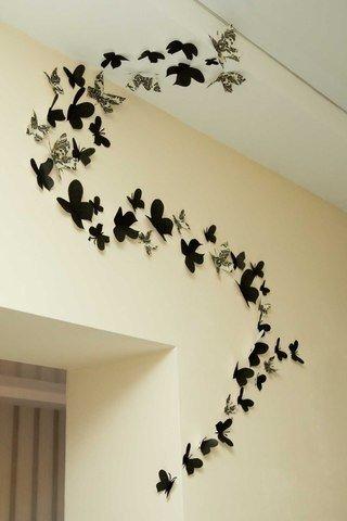 Как сделать сердечка на стене 494