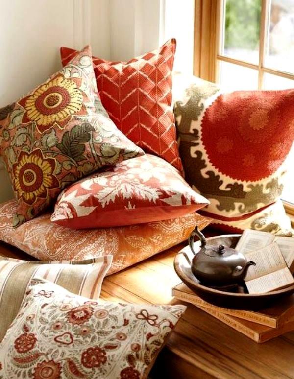 Как сделать декоративную подушку своими руками для начинающих 18