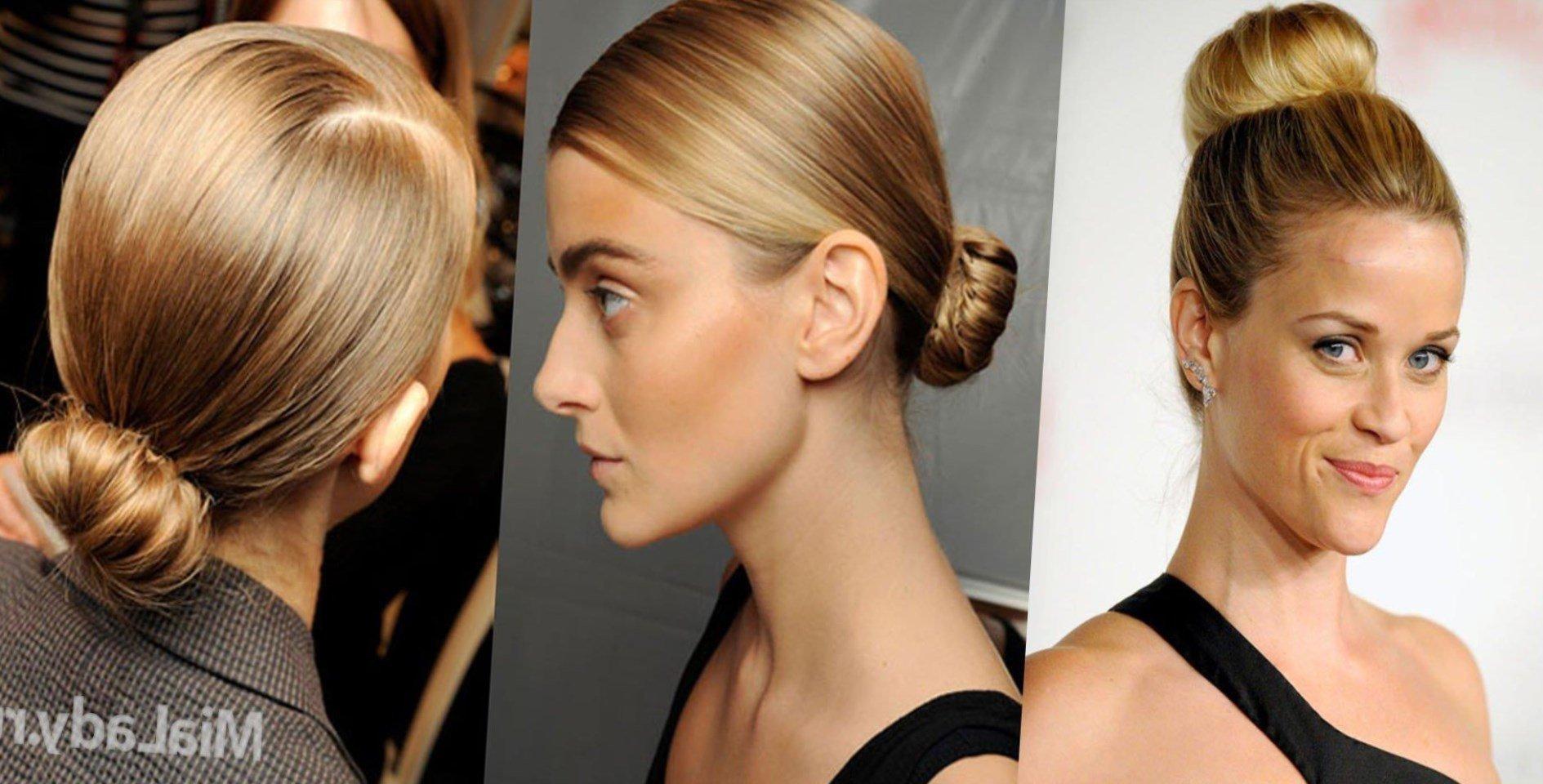 Заколоть волосы средней длины в домашних условиях 133