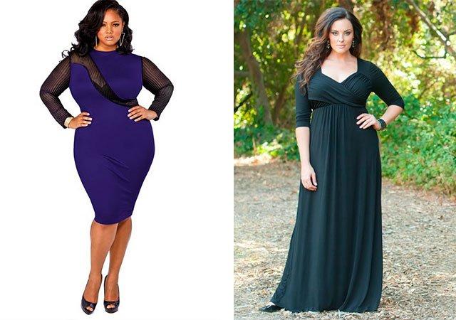 Модні плаття для повних жінок фото.  9cda8ffe4d2b7