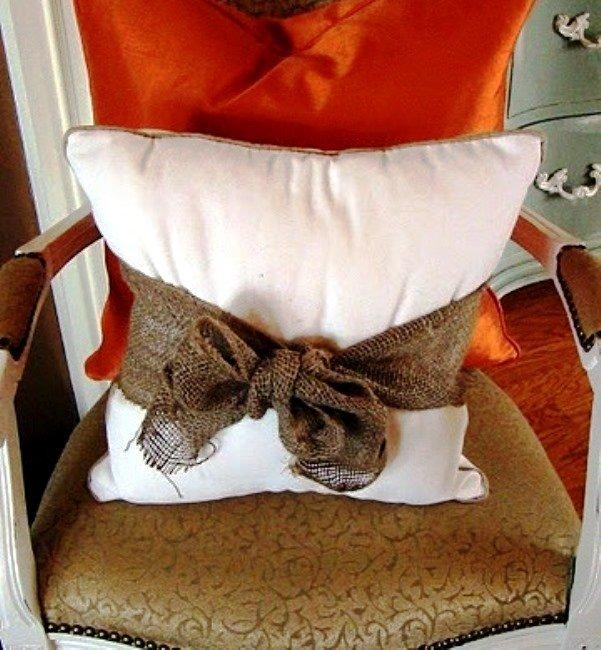 Идеи декоративных подушек своими руками 17