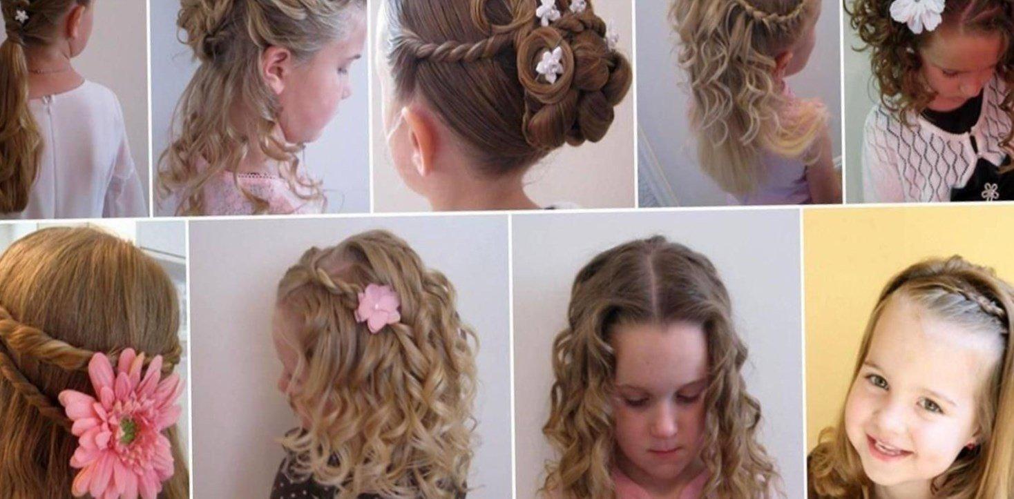 Самые красивые прически на средние волосы фото для детей