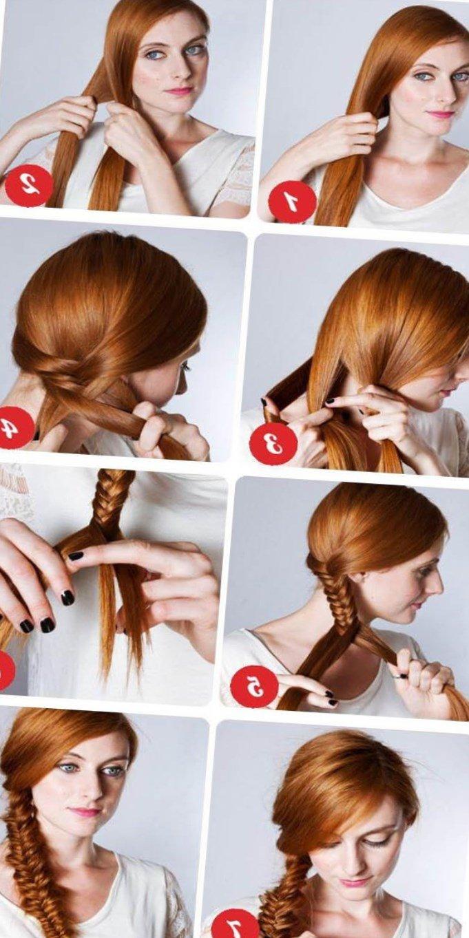 Волосы как делать поэтапно