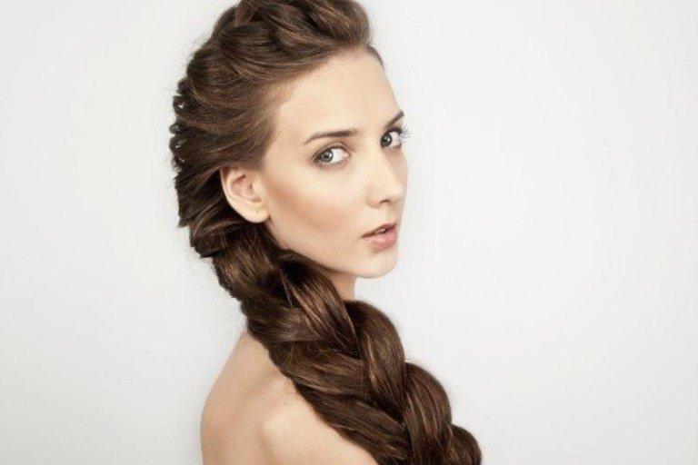 Прически из очень длинных волос фото
