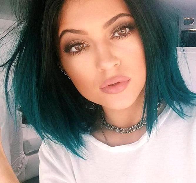 Тёмно зелёная краска для волос