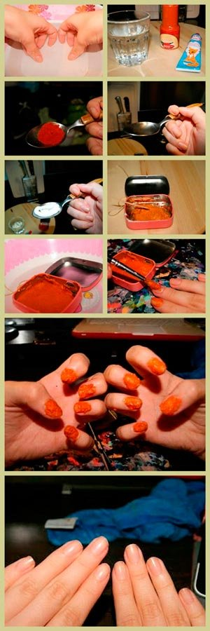 Маски для ногтей в домашних условиях из перца 386
