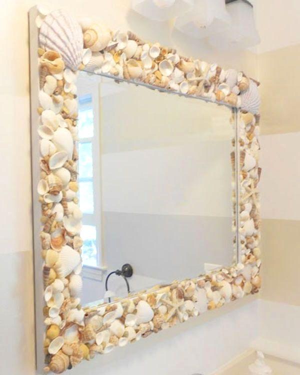 Декор для ванной своими руками из ракушек своими руками 45