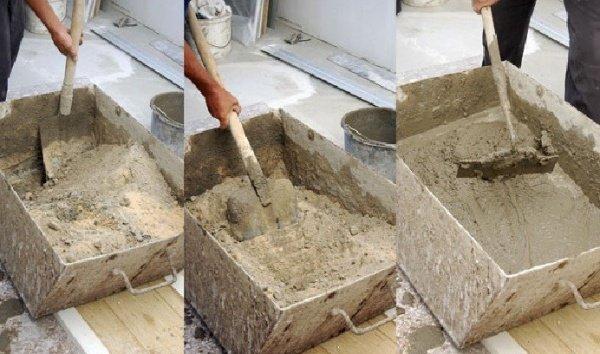 Как сделать качественный цементный раствор